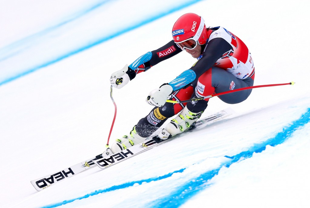 Bode Miller racing on Head skis this past season. GEPA/Wolfgang Grebien