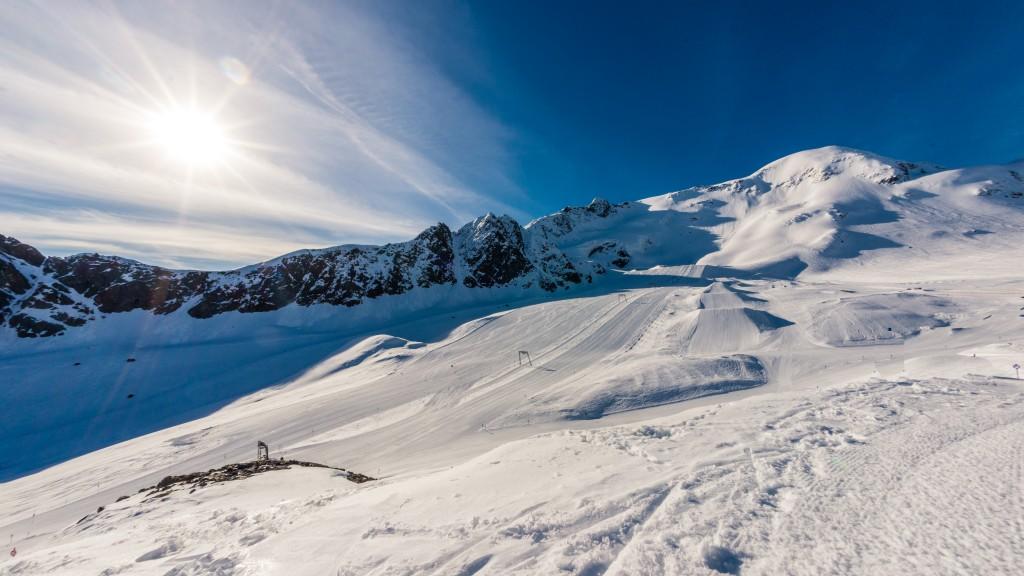 The Kaunertal glacier plays host to the German women's alpine team this week. GEPA/Oliver Lerch