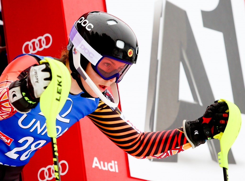 Former Canadian national team skier Elli Terwiel will return to the NCAA next winter. GEPA/Felix Roittner