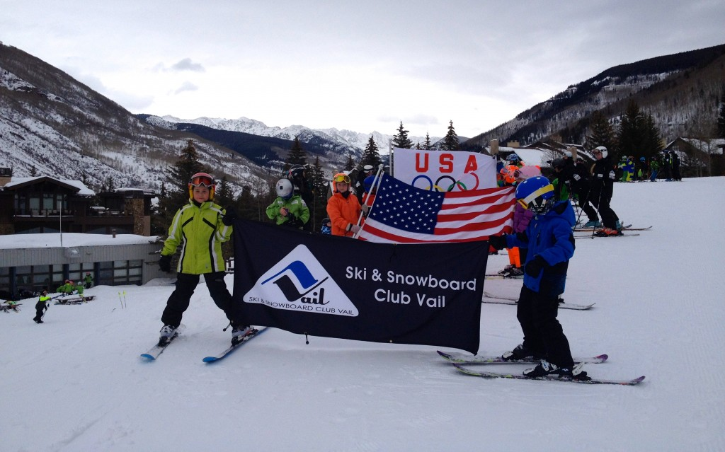 Ski & Snowboard Club Vail's parade during USSA Club Day this past winter. SSCV