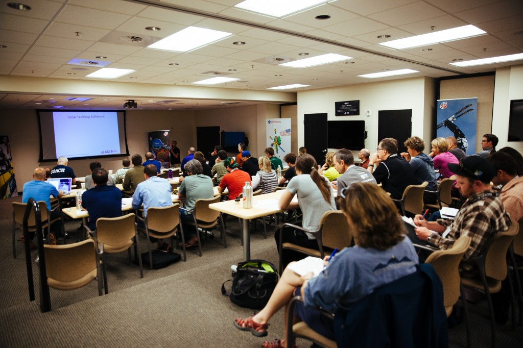 2014 USSA Alpine Strength and Conditioning Symposium at the Center of Excellence. USSA