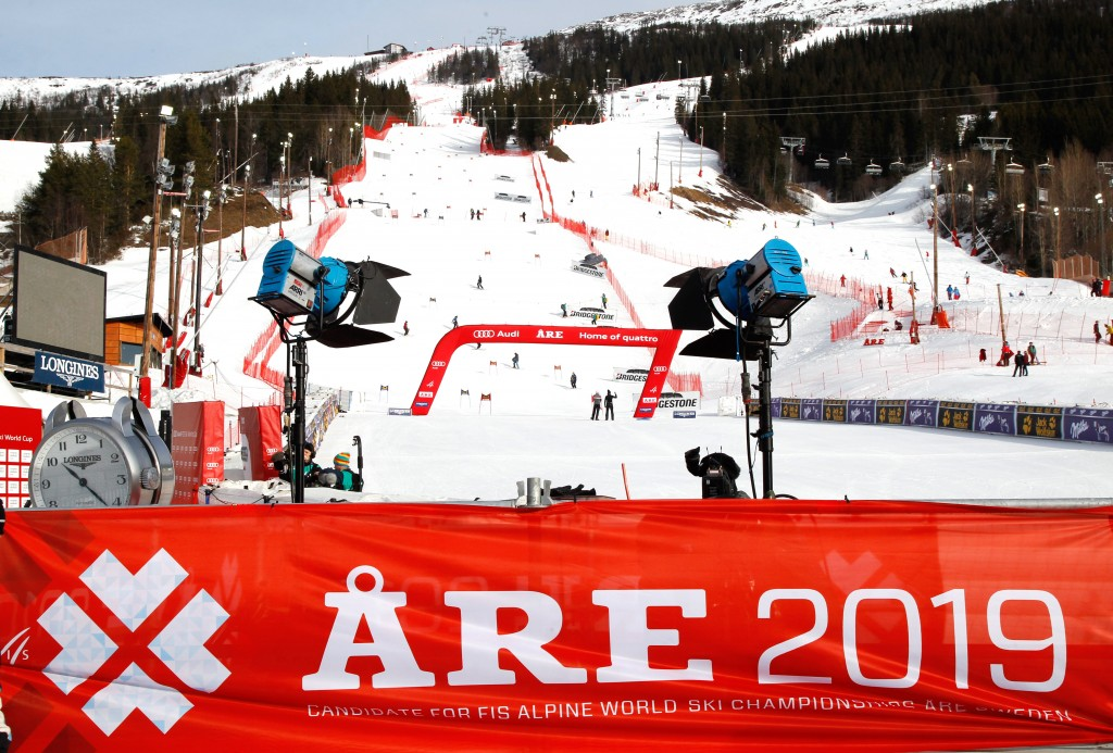 Are, Sweden is now set to host the World Alpine Ski Championships in 2019. GEPA