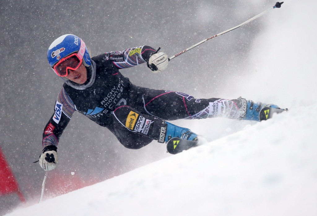 Foreste Peterson at the 2013 Loveland NorAm. GEPA/Christian Walgram