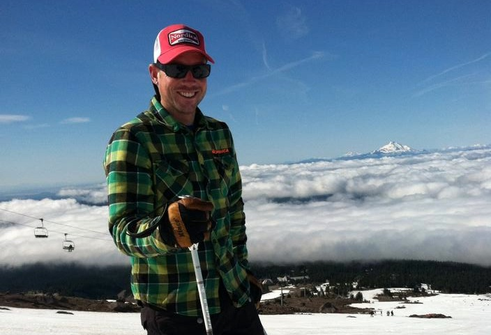 Kyle Darling, the new Nordica National Race, at Mt. Hood. Facebook