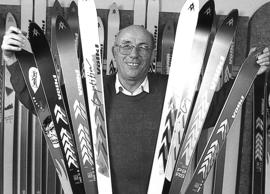 Franz Voelkl of Voelkl Skis.