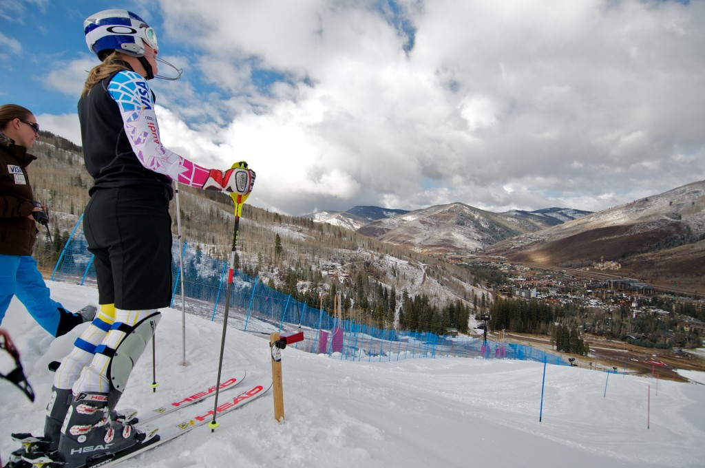 Lindsey Vonn opens training at Vail's Golden Peak in 2010. (Vail Resorts)