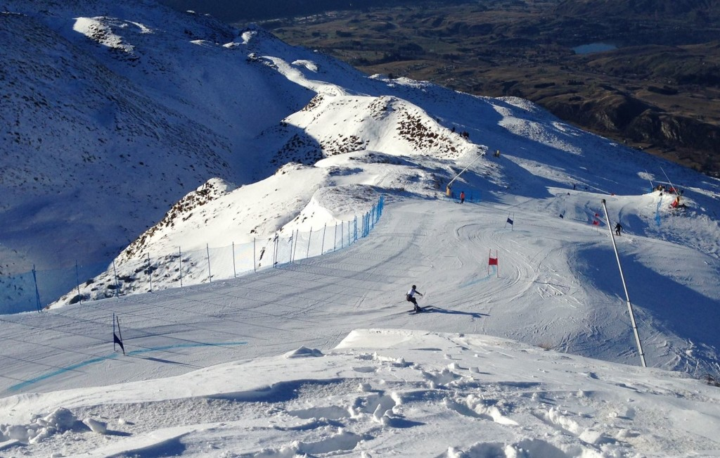 New Zealand national championships kick off at Coronet Peak. Snow Sports NZ