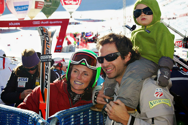 The Schleper-Gaxiola family celebrates a return to Soelden in 2009.