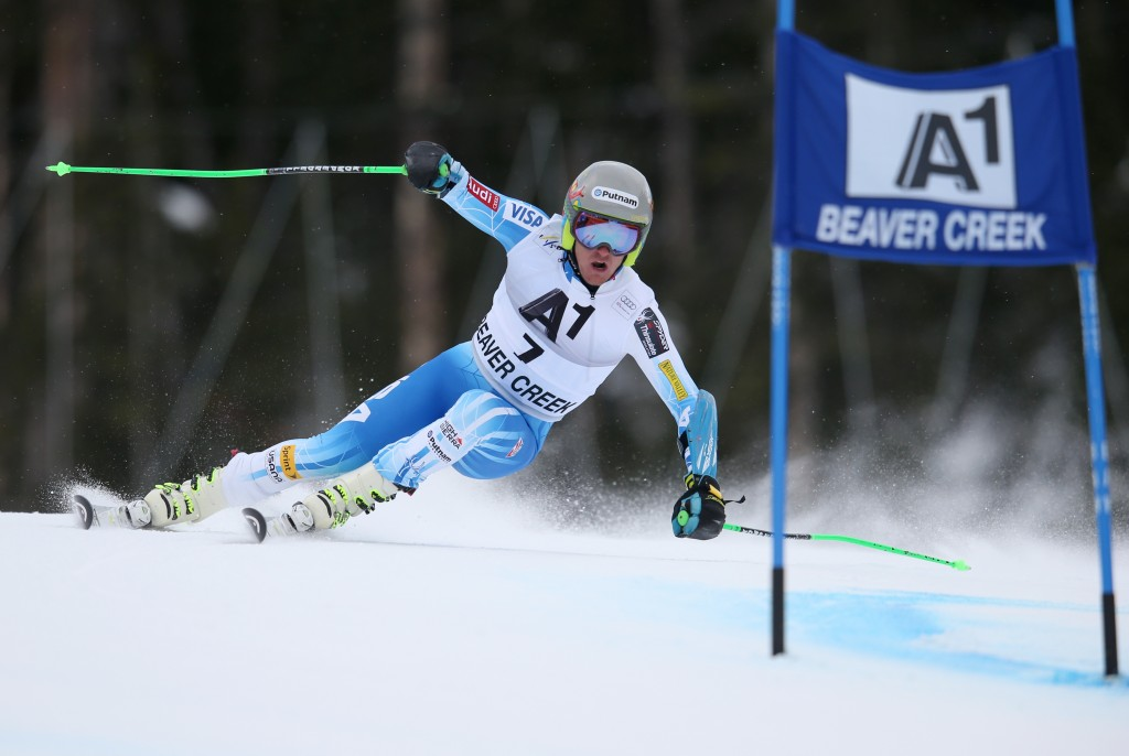 Ted Ligety on the Birds of Prey GS track. GEPA