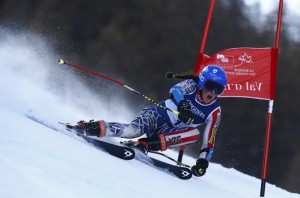 American Keely Cashman in the one-run GS race. Longines
