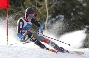 Bryce Astle at the 2014 Aspen NorAm. GEPA