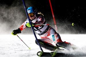 Poutiainen leads first run in Flachau night slalom ...