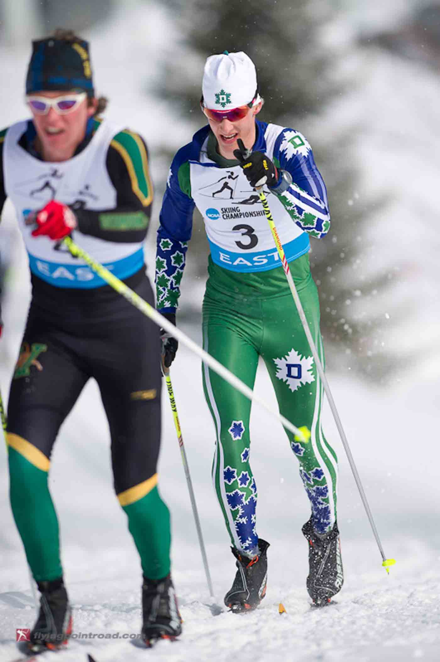 Dartmouth's Eric Packer en route to double-victory at EISA Champs. Credit: Steve Fuller / flyingpointroad.com