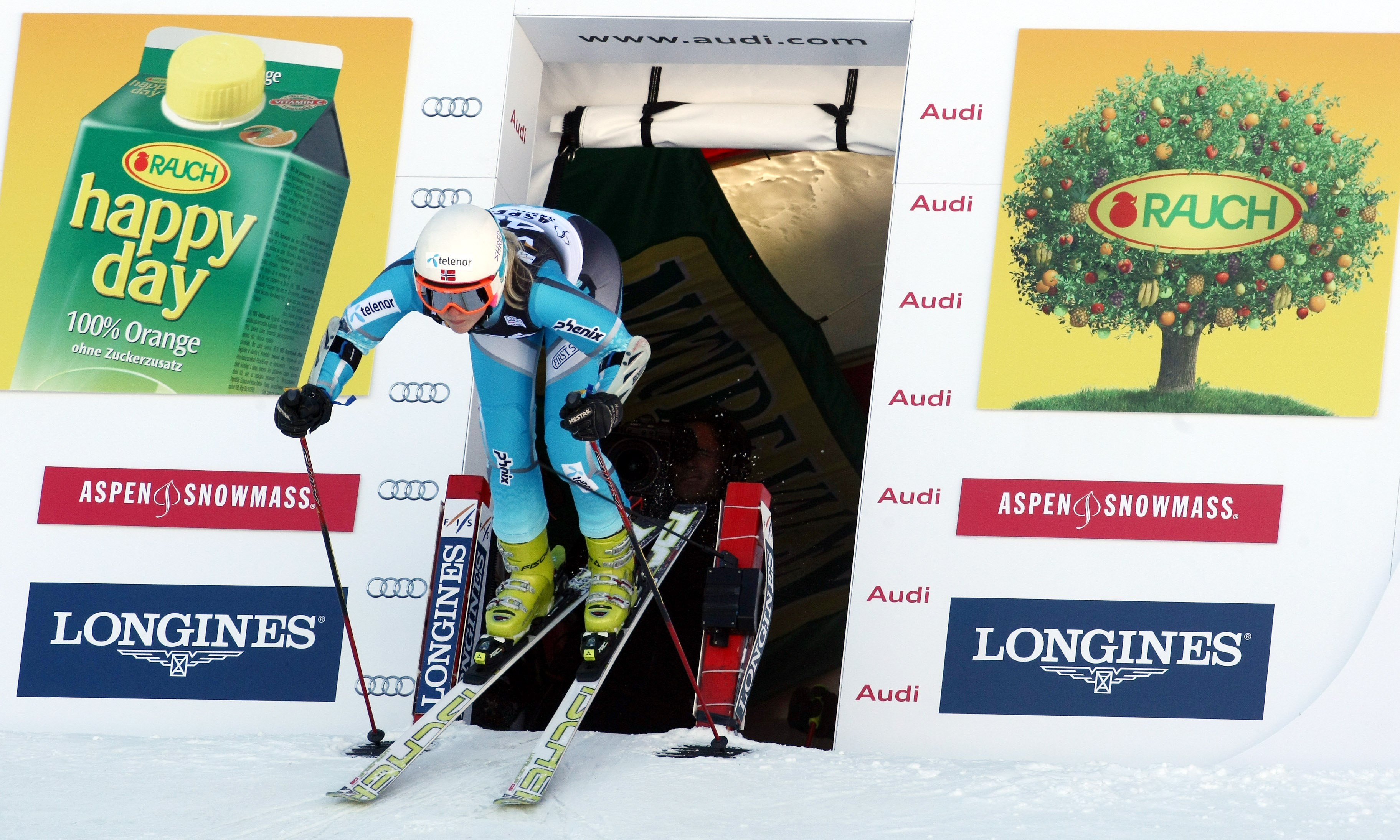 New Mexico's Anne Cecilie Brusletto at this year's Aspen World Cup