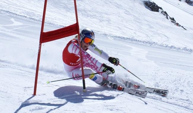 Head Racing Skis Skiing on Head Skis