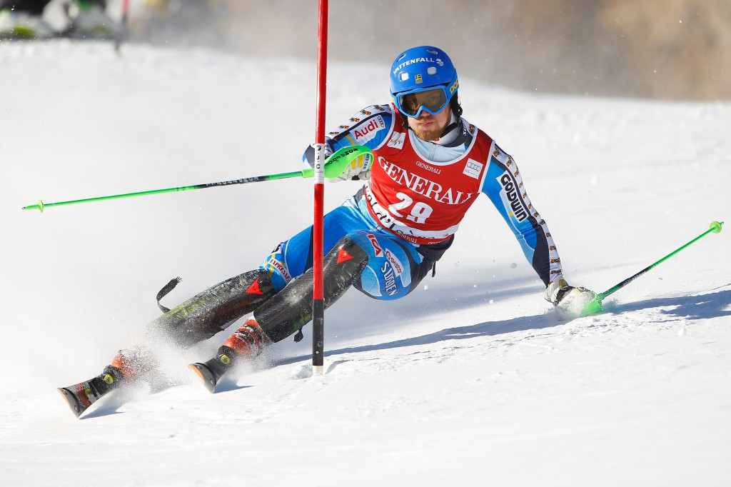 Sweden's Axel Baeck leads the overall Europa Cup standings (GEPA/Mathias Mandl)