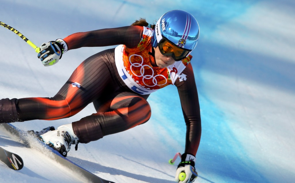 Carolina Ruiz Castillo in the Sochi Olympics. GEPA/Andreas Pranter