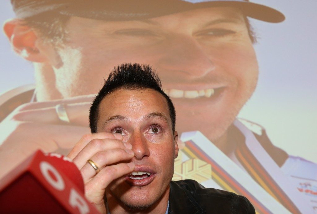 Manfred Pranger at Friday's press conference. GEPA/Andreas Pranter