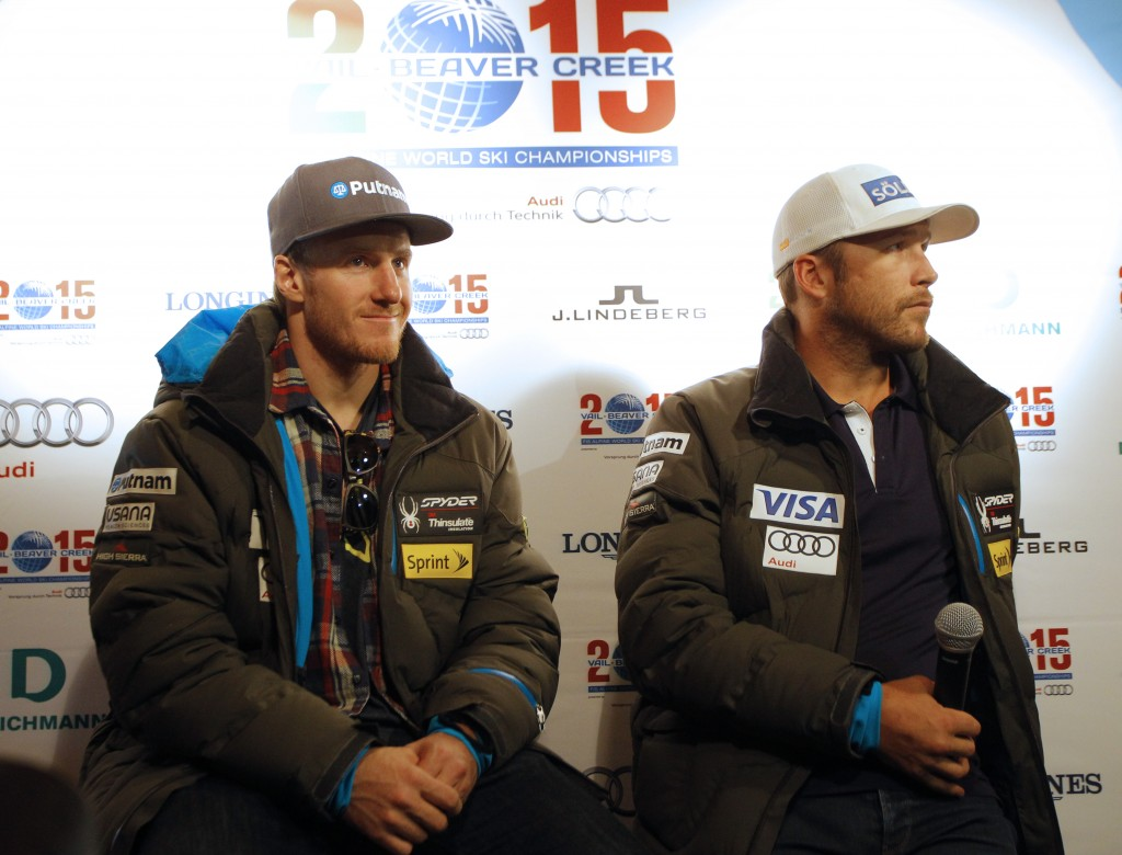 Ligety and Miller look forward to competing on home soil at the 2015 World Championships. GEPA