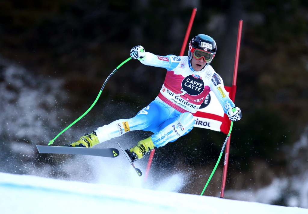 Steven Nyman skis to resounding win in Val Gardena. GEPA
